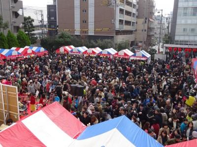 在阪華僑春節祭 五千僑胞日本友人迎新春 1