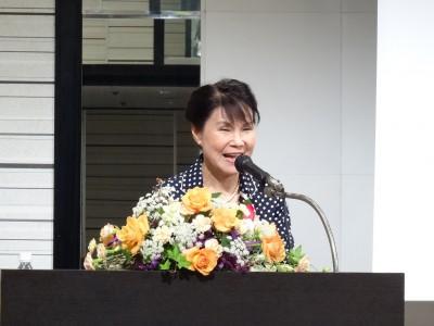 駐大阪辦事處蔡處長夫人林玲玉應婦女會邀請演講『非洲傳奇』1