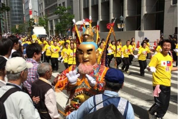 神戸中華總會 神戸パレード(日本_台湾_絆)